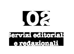02 - Servizi editoriali e redazionali