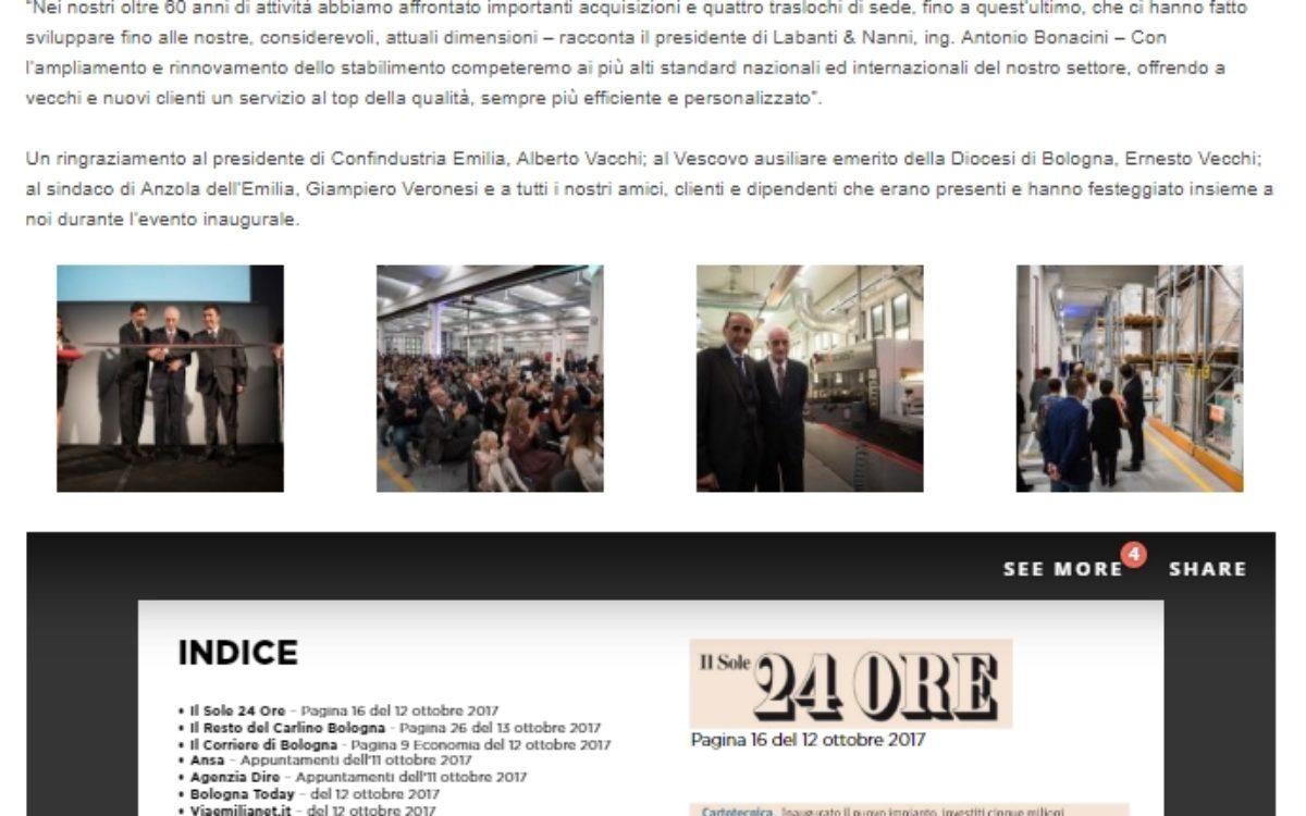 Labanti Nanni - Aziende - Express Comunicazione - Bologna